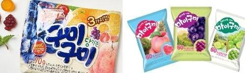 중국 시장에서 천연 과즙이 들어간 한국산 젤리가 인기를 끌고 있다. [사진 롯데제과ㆍ오리온]
