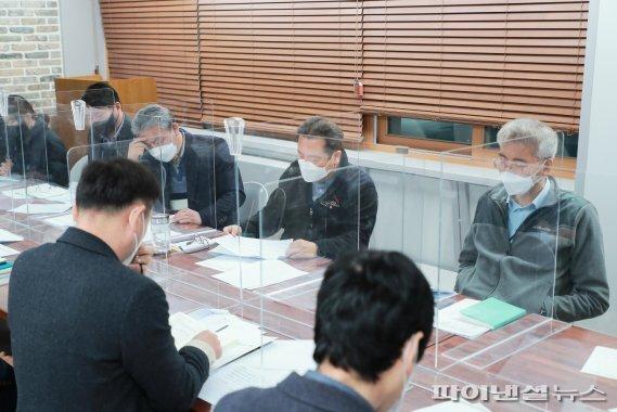 남양주시 12일 불법 개농장-육견 경매장 관계부서 합동대책회의 개최. 사진제공=남양주시