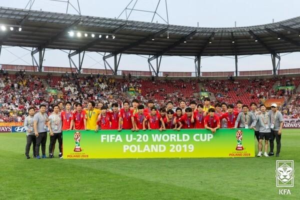 2019 FIFA U-20 월드컵 준우승 멤버들은 K리그1 무대에서도 아직 핵심 선수가 되지 못했다. 대한축구협회 제공