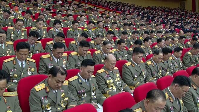지난 6일 노동당 제8차 대회 모습. 연합뉴스