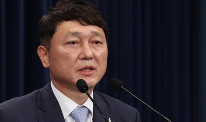 최재성 청와대 정무수석. 연합뉴스