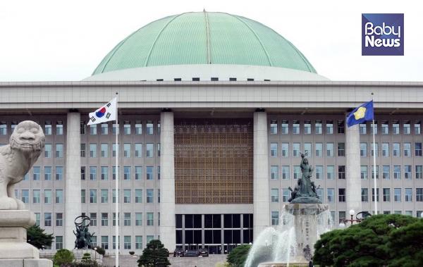 국회는 지난 8일 임시국회를 열고 '아동학대범죄의 처벌 등에 관한 특례법 일부개정법률안(대안)'을 본회의에서 통과시켰다. 자료사진 ⓒ베이비뉴스