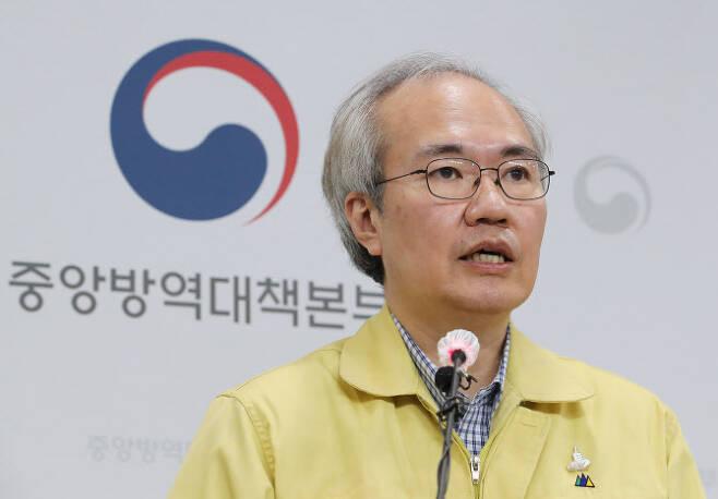권준욱 중앙방역대책부본부장(국립보건연구원장). (사진=연합뉴스)