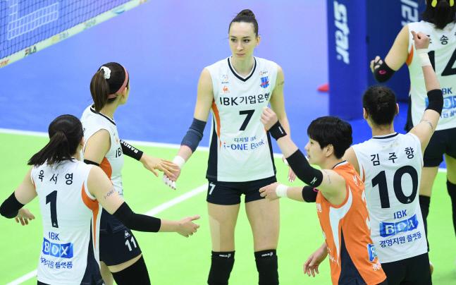 IBK기업은행 외국인 선수 안나 라자레바.제공 | 한국배구연맹
