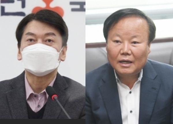 안철수 국민의당 대표 vs 김재원 전 국민의힘 의원 - 서울신문
