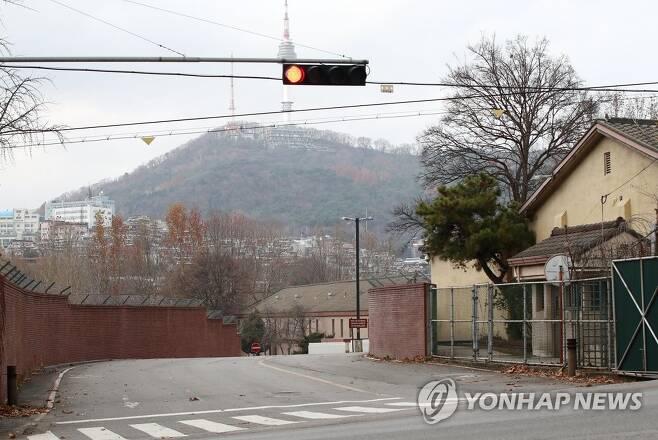 서울 용산 주한미군기지 위 사진은 아래 기사와 무관합니다.[연합뉴스 자료사진]