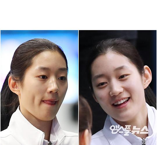 '농구 미녀의 계보' 오승인, 깊은 보조개에 어울리는 화사한 미소!(강명호 기자)