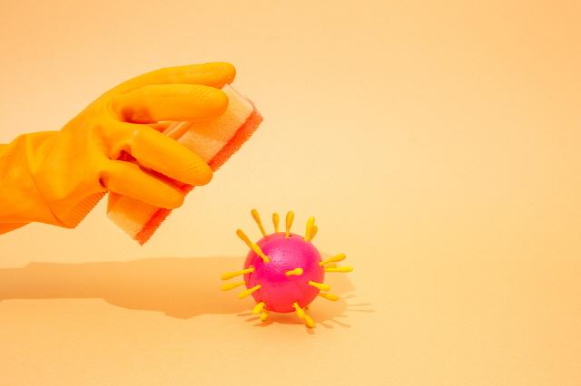물, 음식물찌꺼기와 항상 닿는 수세미에는 많은 세균이 번식하고 있다./사진=클립아트코리아