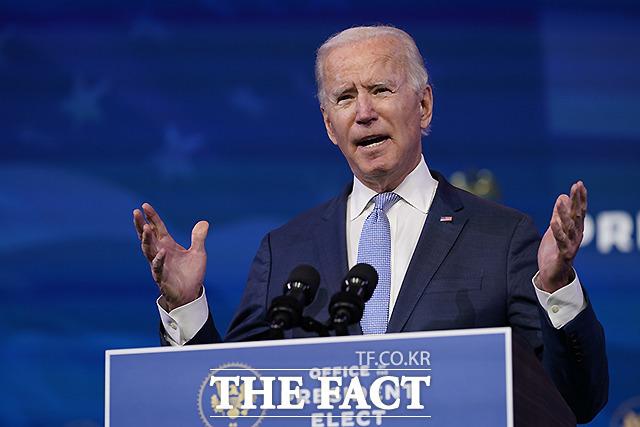 조 바이든 미국 새 행정부가 중국을 상대로 대만에 대한 압박을 중단하라고 공식적으로 경고했다. /AP.뉴시스