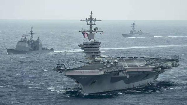 미국 루스벨트 항공모함. 미해군 홈페이지 캡처