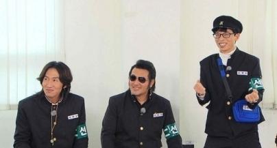 김보성이 김종국과의 의리를 과시했다. [사진=SBS]