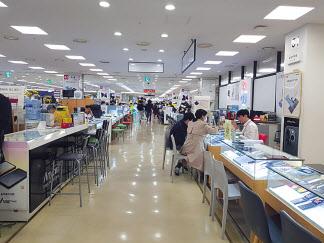 신도림 테크노마트 9층 스마트폰 매장 모습. [헤럴드DB]