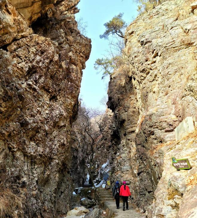 삼악산 등선폭포 금강굴
