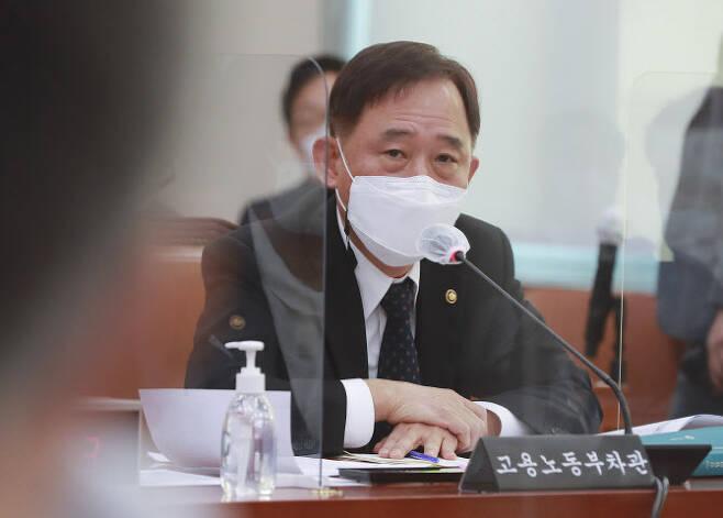 박화진 고용노동부 차관. (사진=연합뉴스)