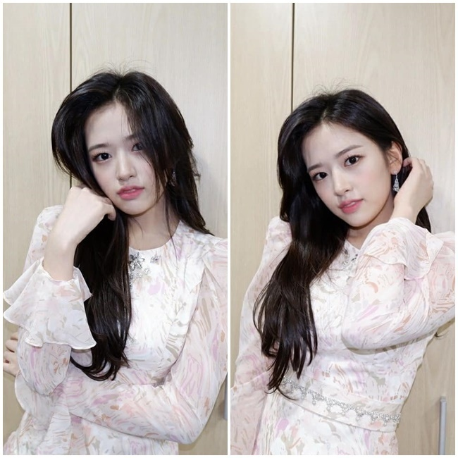 Group IZ*ONE Ahn Yu-jin showed off her fairy-like lookIZ*ONE Official Instagram posted a photo on February 1 with an article entitled Kwon Photo # Eugene # IZ*ONE.In the open photo, Ahn Yu-jin showed off her innocence in a pink pink dress, especially the look of a lovely Ahn Yu-jin like a fairy.On the other hand, IZ*ONE won the main prize at the 30th High1 Seoul Song Awards held on January 31
