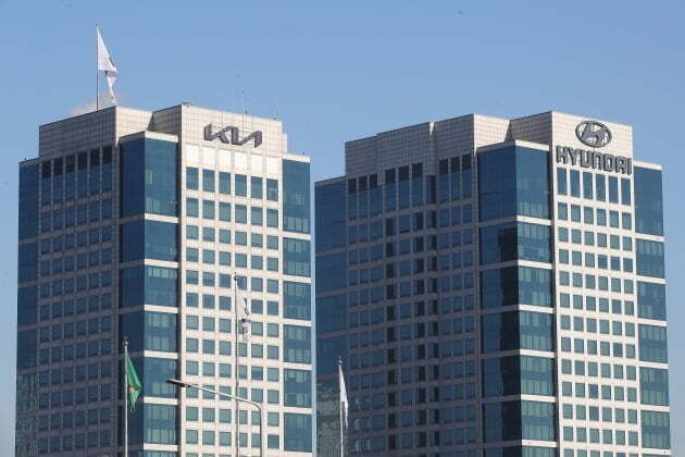 서울 서초구 양재동 현대자동차 본사 모습. 2021.2.9/뉴스
