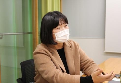 김보연 네이버 블로그 리더는 MZ세대가 블로그를 새로운 문화로 여기고 있다고 말했다. [사진=네이버]
