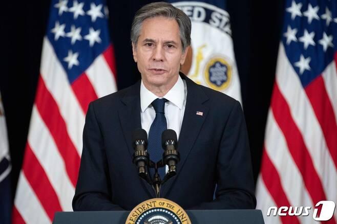 토니 블링컨 미국 국무장관 <자료사진> © AFP=뉴스1 © News1 우동명 기자