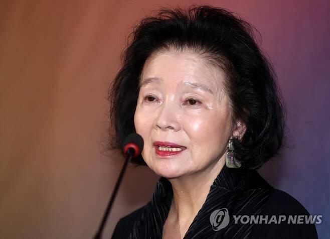 배우 윤정희 [연합뉴스 자료사진]