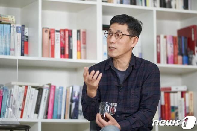 (서울=뉴스1) 박세연 기자 = 진중권 전 동양대 교수. (금태섭블로그 제공)2021.1.18/뉴스1