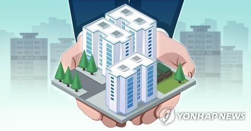 공공임대주택(PG) [김민아 제작] 일러스트