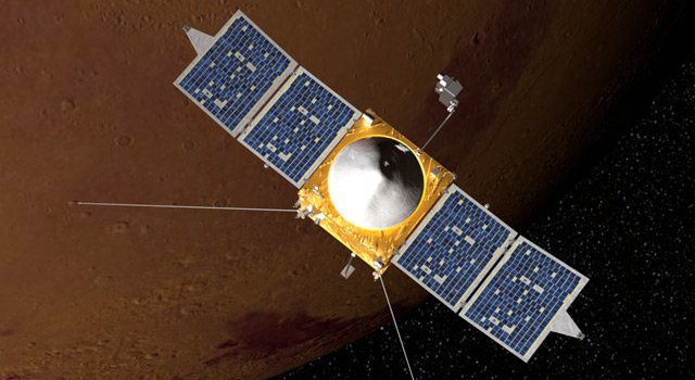 NASA 화성기후 탐사선 '마스클라이미트 오비터'호.[출처 NASA]