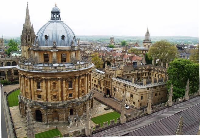 영국 옥스퍼드대 보들리언도서관 전경. /보들리언도서관 블로그