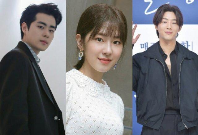 왼쪽부터 배우 조병규·박혜수·지수. HB엔터테인먼트 제공·동아닷컴DB