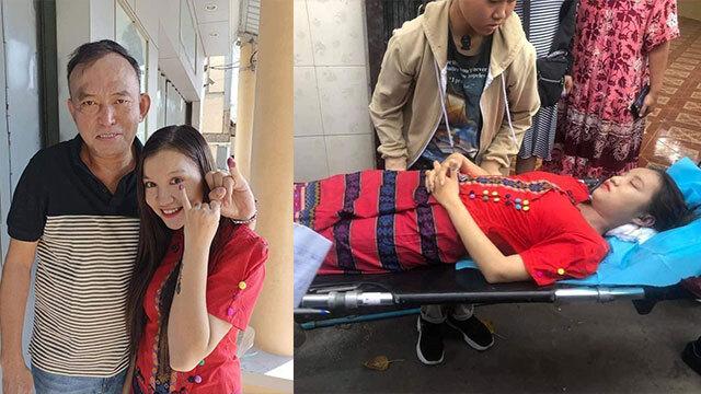 지난해 11월 총선에서 마 째 신은 아버지와 함께 생애 첫 투표를 했다(그녀는 무남독녀다). NLD를 상징하는 붉은색 옷을 입고 투표한 마 째 신, 그 옷은 그녀의 수의가 됐다.
