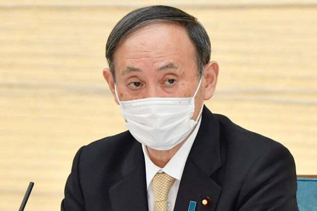 스가 요시히데 일본 총리.(사진=AP=연합뉴스)