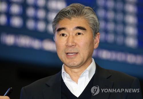 성 김 미국 국무부 동아태 차관보 대행 [연합뉴스 자료사진]