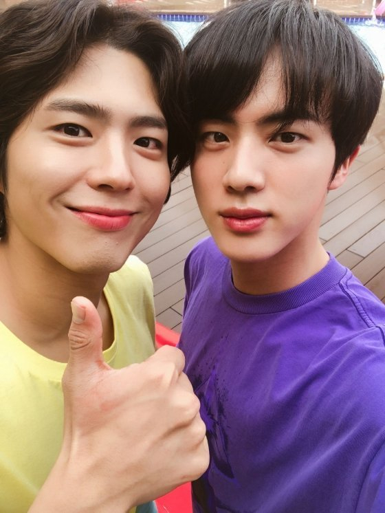 BTS (BTS) Jean thrilled fans with selfie with actor Park Bo-gumOn the afternoon of the 10th, Jean posted a selfie on the fan community platform Weverse, writing, Theres something I took on the ad shoot with my handsome friend.In the public photos, Jean and Park Bo-gum, who are considered to be the most beautiful people in the entertainment industry, stand side by side and stare at the camera.The two of them, who have a friendly atmosphere, capture the hearts of fans.Fans who watched this poured out admiration such as a handsome child next to a handsome child, two beautiful men, twice as happy and a youth movie.The photo is believed to have been taken in July 2018 when BTS and Park Bo-gum were working as Coca-Cola summer campaign models.According to advertising officials at the time, they showed a friendly appearance, such as shoulder-to-shoulder or high-five throughout the shooting.Copyright c Real-time News with Money