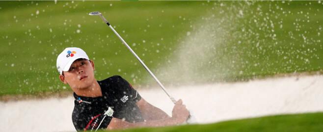 김시우가 11일 미국 조지아주 오거스타의 오거스타 내셔널 골프클럽에서 열린 제85회 마스터스 토너먼트 3라운드에서 버디 3개, 보기 5개로 2타를 잃었지만 톱10 희망을 이어갔다.마스터스 홈페이지 캡처