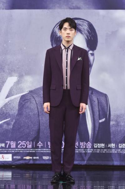 김정현이 현 소속사와 계약 분쟁 중 지난 2018년 MBC드라마 '시간' 제작발표회, 촬영 태도 논란이 함께 불거졌다. 사진 MBC