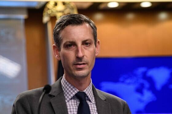 네드 프라이스 미국 국무부 대변인. AFP 연합