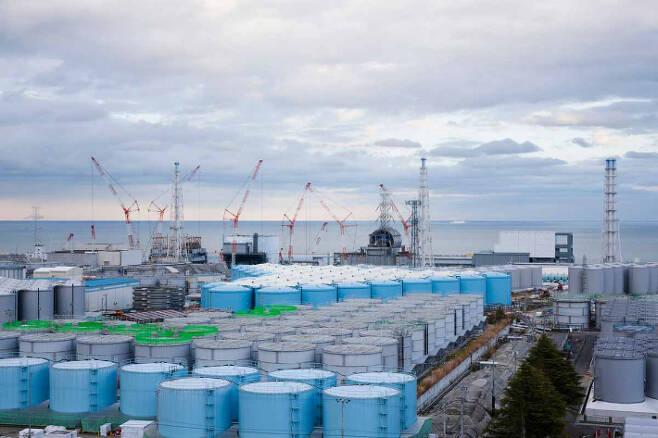 후쿠시마 제1원전 전경. 주한일본대사관 제공