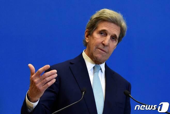 존 케리 미국 대통령 기후특사 <자료사진> © AFP=뉴스1