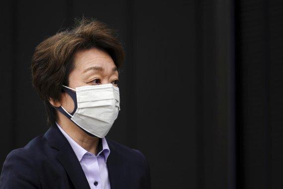 하시모토 세이코 도쿄올림픽 조직위 회장. AP뉴시스