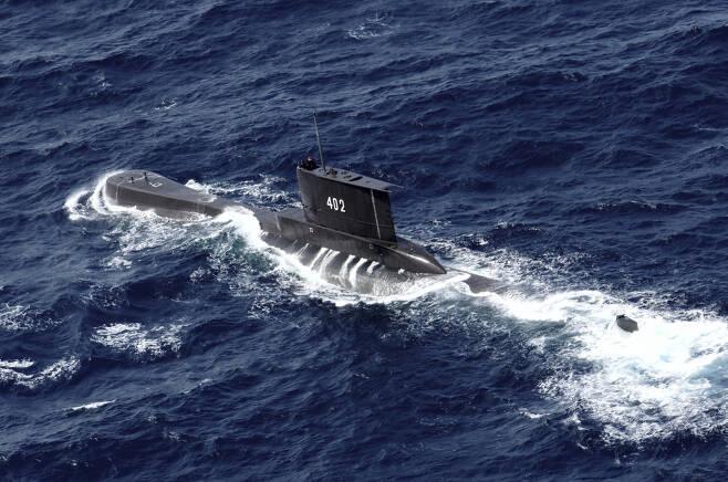 인도네시아 해군 잠수함 '낭갈라(Nanggala·402)'함. [AP]