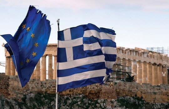 그리스 국기/사진=REUTERS