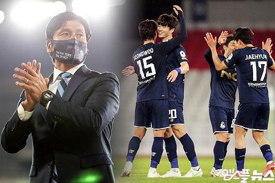 서울 이랜드 FC가 창단 첫 어린이날 홈경기를 치른다(사진=엠스플뉴스, 한국프로축구연맹)