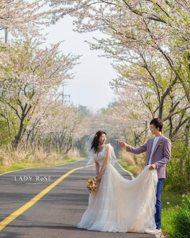 ▲ 박인영(왼쪽)과 남편. 출처| 박인영 인스타그램