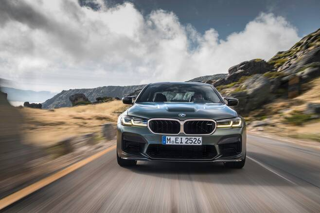 BMW M5./BMW제공