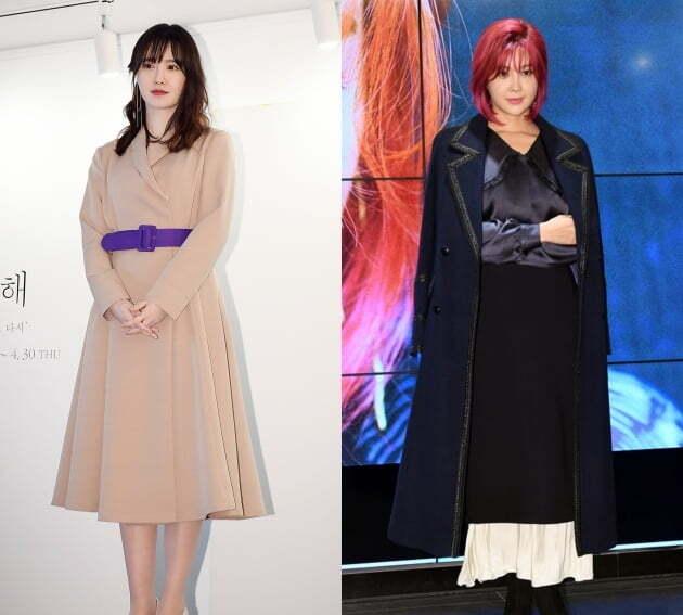 배우 구혜선(왼쪽), 가수 솔비. /텐아시아DB