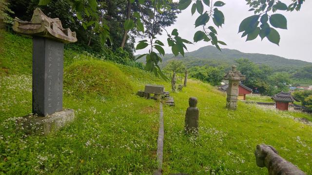 ▲ 충남 아산에 있는 김옥균의 묘소 ⓒ손호철