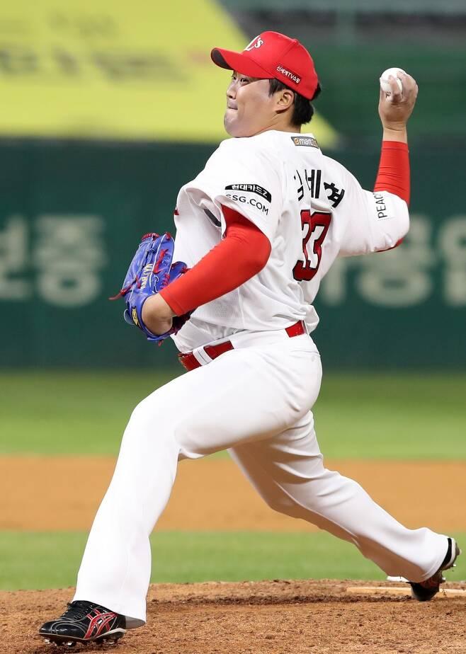 ▲ 11일 웨이버 공시된 김세현 ⓒSSG랜더스