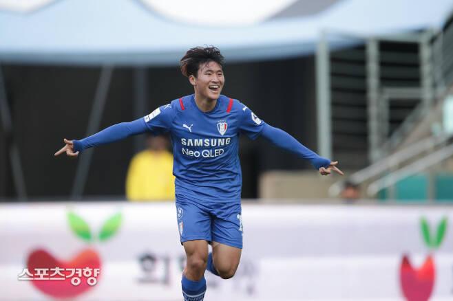 수원 삼성 정상빈. 프로축구연맹 제공