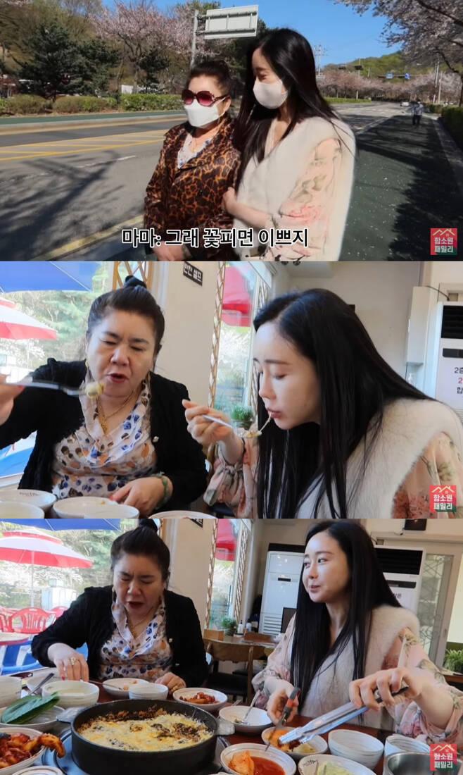 배우 함소원과 진화 엄마 /사진=유튜브 채널 '진화&마마TV' 영상 캡처