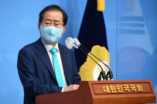 무소속 홍준표 의원. [연합]