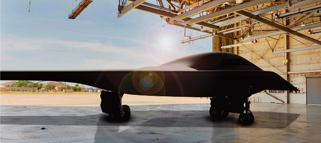 미국 공군은 차세대 스텔스 폭격기 B-21(사진)에 AGM-183A ARRW를 탑재할 예정이다. [사진 제공 · 미 공군]